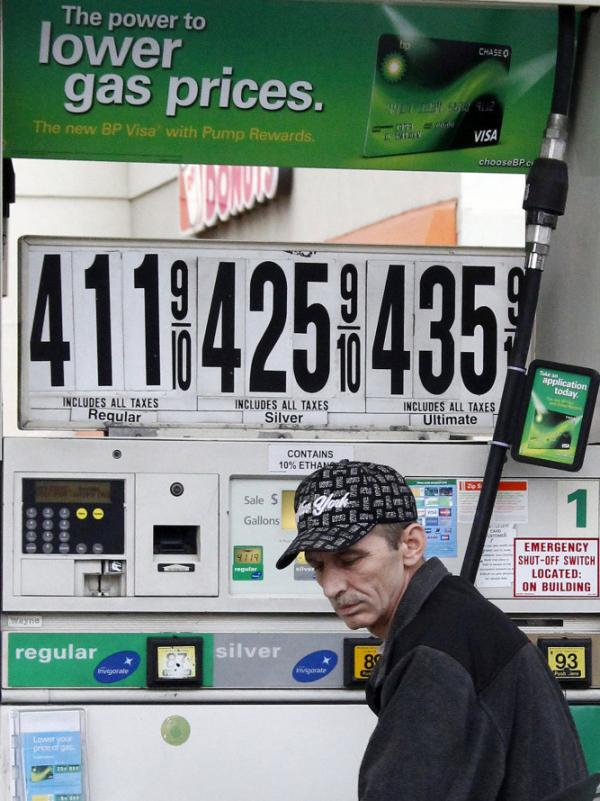 Some voters believe President Obama has the power to lower gas prices and are blaming him for higher costs.