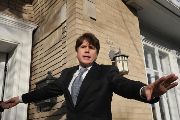 Former Illinois Gov. Rod Blagojevich in December.