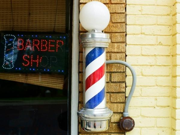 Each part of the barber pole represents something different.
