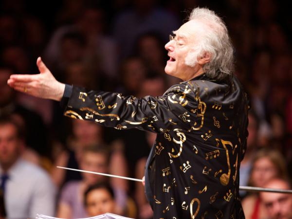 Davis, composer of the score for Brownlow's restoration of <em>Napoleon,</em> will also conduct the Oakland East Bay Symphony at the event. Davis promises to wear the jacket pictured above.