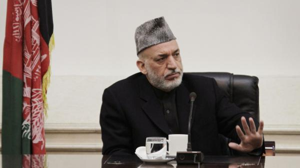 "Afghan President Hamid Karzai lashed out at the United States on Friday, saying he is at the ""the end of the rope"" because of the lack of U.S. cooperation into a probe of a killing spree allegedly carried out by an American soldier."