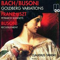Claudius Tanski plays Bach-Busoni.