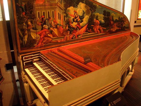 Andreas Staier plays Bach's <em>Goldberg Variations</em> on a copy of this famously grand harpsichord built in 1734 by Hieronymus Albrecht Hass currently housed in Hamburg, Germany.