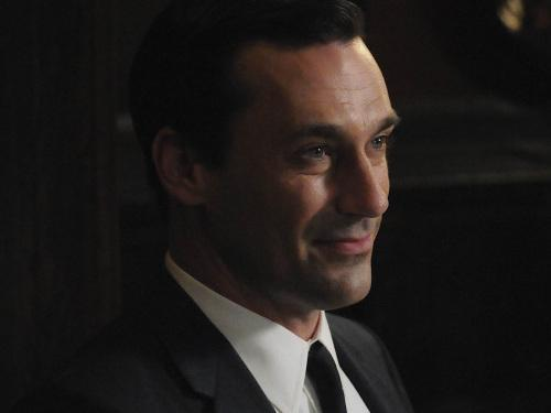 Jon Hamm stars in <em>Mad Men</em>.