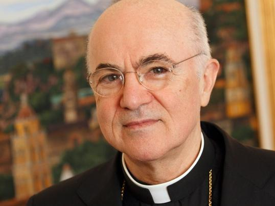 Archbishop Carlo Maria Vigano, 70, is the new papal nuncio, or ambassador, to the United States. He complained of corruption in the Vatican before he was assigned to his new post.