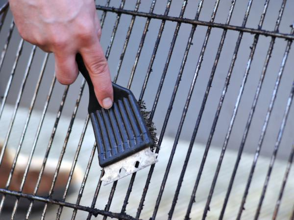 A radiologist says more research is needed before everyone throws out their grill brush.