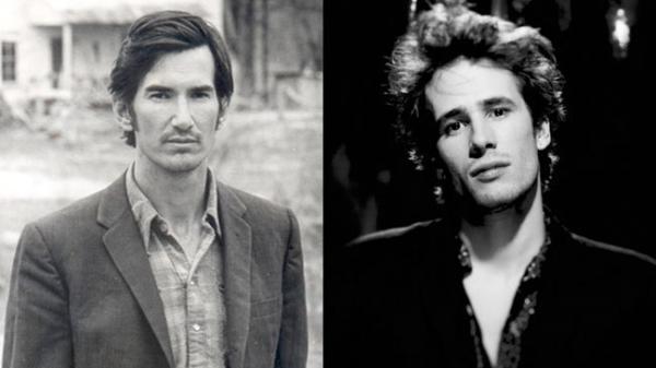 <p>Townes van Zandt (left) and Jeff Buckley (right).</p>