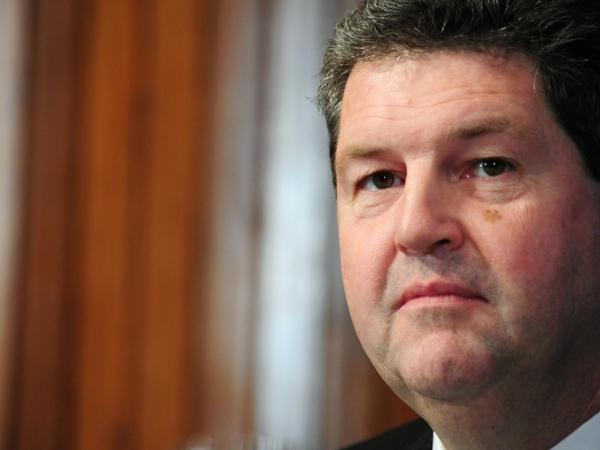 "U.S. Postmaster General Patrick Donahoe said Monday that the Postal Service is in ""a deep financial crisis"" because it has a ""business model that is tied to the past."""