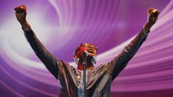 Senegalese singer Youssou N'Dour performs at a concert in November in Tunisia paying tribute to Tunisian youth and the revolution that inspired the Arab Spring. The popular international celebrity has announced plans to stand in his country's presidential election in February.