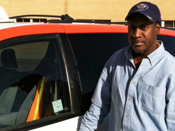 "Longtime Denver taxi driver Teddy Johnson participates in the ""Taxis on Patrol"" program, and has made two reports of potential safety issues so far."