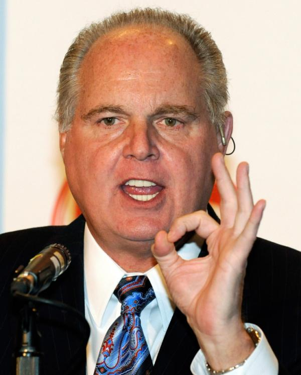 Things are fine, Limbaugh says. (January 2010 file photo.)