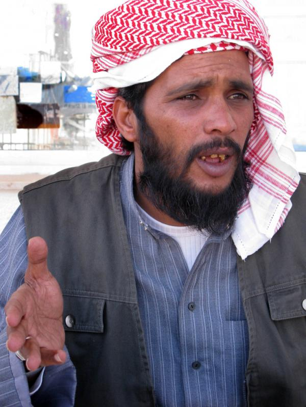 Sheik Ahmed Hashem, 37, who heads the Revolutionary Movement of Sinai, led a group of some 150 protesters that detained two busloads of Western tourists earlier this year for five hours at a monastery in Wadi Feiran in South Sinai.