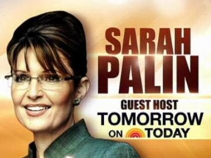 Gov. Palin will be on<em> The Today Show</em> Tuesday.