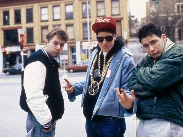 The Beastie Boys circa 1987.