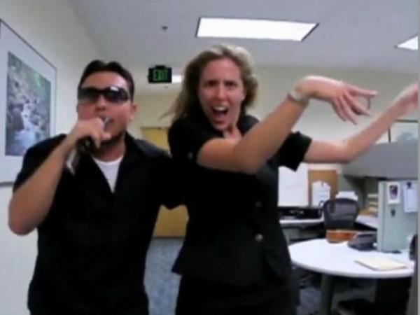 From the GSA employee's rap video.