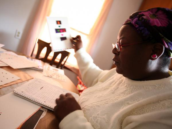Shirley Ree Smith, whose prison sentence was commuted by California Gov. Jerry Brown, began creating greeting cards for her grandchildren while she was incarcerated. While she was out of custody after a series of legal appeals, until today, she still faced the possibility of returning to prison.