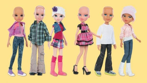 MGA Entertainment plans to release bald Bratz and Moxie Girlz dolls in stores this summer.
