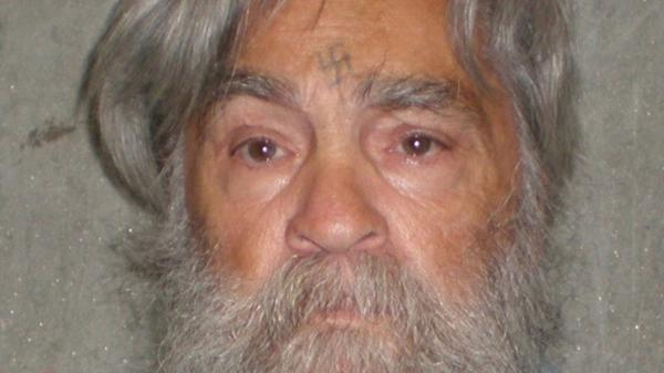 A photo provided by the California Department of Corrections shows killer Charles Manson, 77, on April 4, 2012.