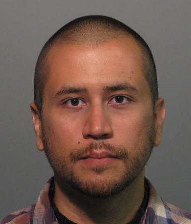 "Authorities released this ""booking photo"" of George Zimmerman after his arrest Wednesday."