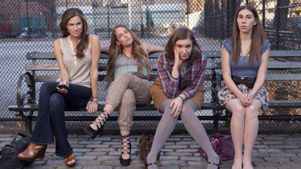 <em>Girls</em> has been compared to <em>Sex and the City. </em>The characters, played by Allison Williams, Jemima Kirke, Lena Dunham and Zosia Mamet, navigate the ups and downs of life in New York City.