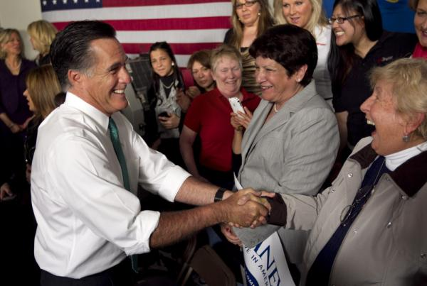 To get to the White House, Republican presidential candidate Mitt Romney will need to win over women voters.