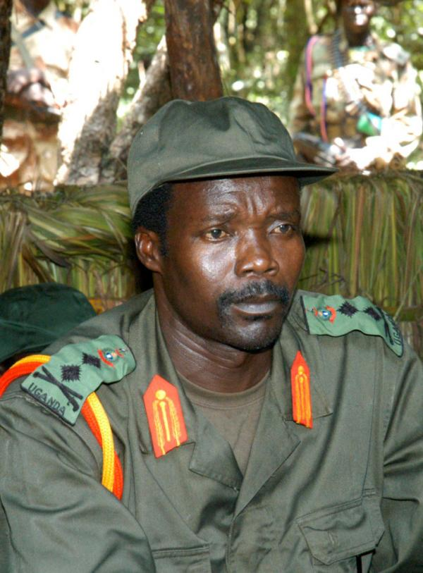 Joseph Kony, leader of the Lord's Resistance Army, in 2006.