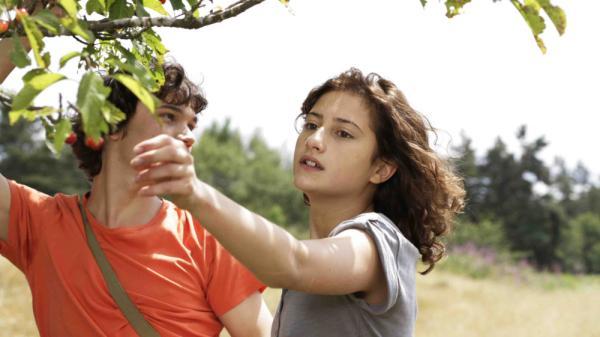 Camille (Lola Creton) and Sullivan (Sebastian Urzendowsky) are caught in a complicated tangle of feelings in Mia Hansen-Love's <em>Goodbye First Love.</em>