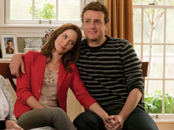 In <em>The Five-Year Engagement</em>, which Jason Segel co-wrote, he plays Tom, the devoted fiance to Violet (Emily Blunt), who agrees to postpone the wedding day as life continues to throw obstacles their way.