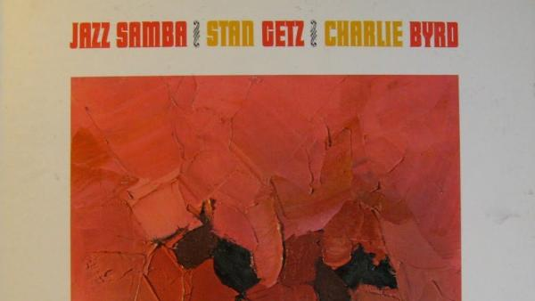 Cover art detail from <em>Jazz Samba</em>, released 50 years ago today.