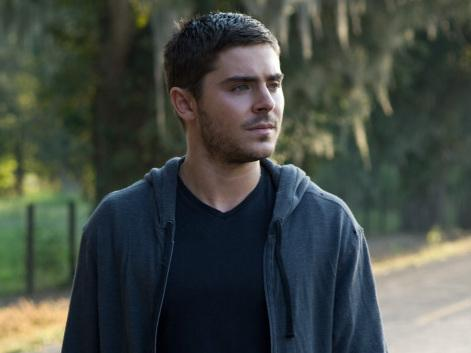 Zac Efron plays Logan, a former Marine with all kinds of feelings, in the new film <em>The Lucky One</em>.