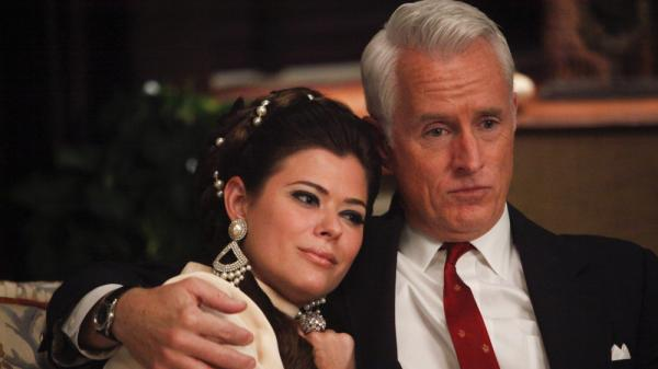 Jane Sterling (Peyton List) and Roger Sterling (John Slattery) made progress, in a way, on Sunday night's <em>Mad Men</em>.
