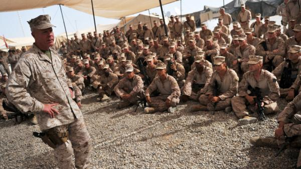 The Marines' most senior officers — including top commander Gen. James Amos (shown here in 2011 in Afghanistan's Helmand province) — are weighing in on recent incidents involving misconduct by troops serving in Afghanistan.