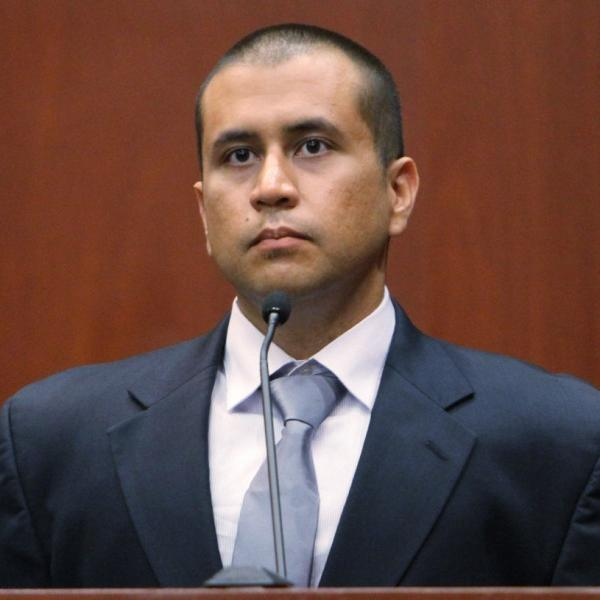 George Zimmerman during his bond hearing in a Seminole County, Fla., courtroom on April 20.