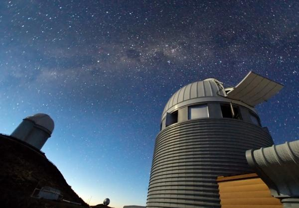 "<a href=""http://www.eso.org/public/news/eso1217/"">Looking for signs of Dark Matter</a> at the ESO's La Silla Observatory in Chile."