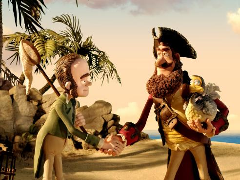 Charles Darwin and Pirate Captain strike a risky but potentially lucrative deal when Darwin points out that Captain's parrot Polly is, in fact, a supposedly extinct dodo.