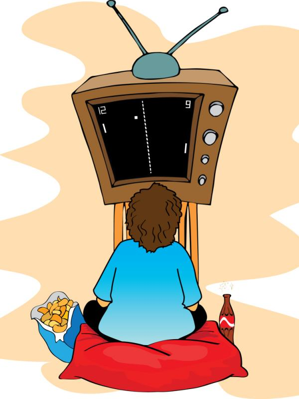 Pong, soda and junk food: the beginning of the end for health?