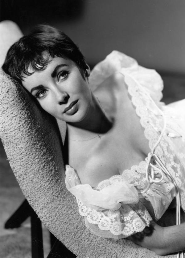 Elizabeth Taylor, seen here in 1954, has passed away at 79.