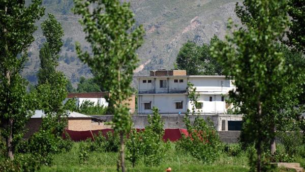 The compound in Abbottabad, Pakistan, where U.S. forces found and killed al-Qaida leader Osama bin Laden early Monday local time.