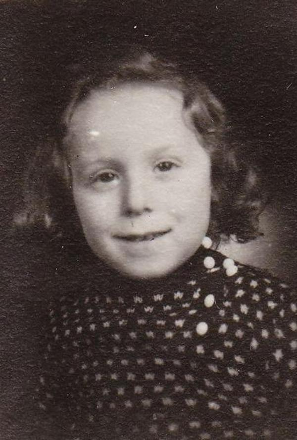 Jean-Claude Goldbrenner as a young boy
