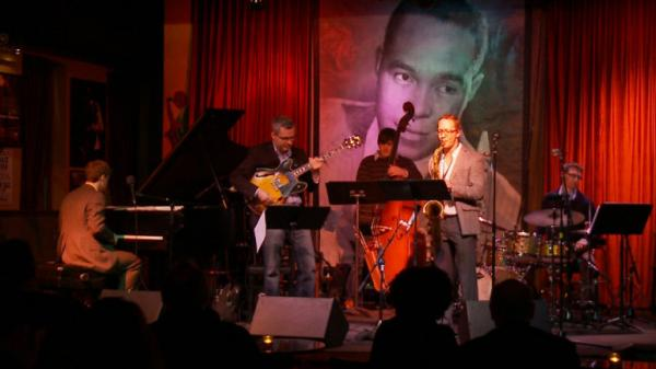 The Moshier-Lebrun Collective performs at Joe Segal's Jazz Showcase.