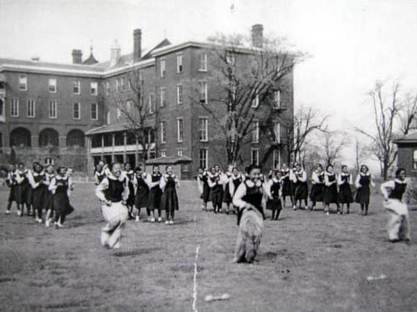 "Outdoor activities at <a href=""http://www.preservationnation.org/travel-and-sites/sites/southern-region/belmead-on-the-james.html"">Belmead-on-the-James</a>, a plantation turned educational institution in Powhatan County, Va. The campus once boasted 40-plus buildings; today, only three major historic structures remain standing."