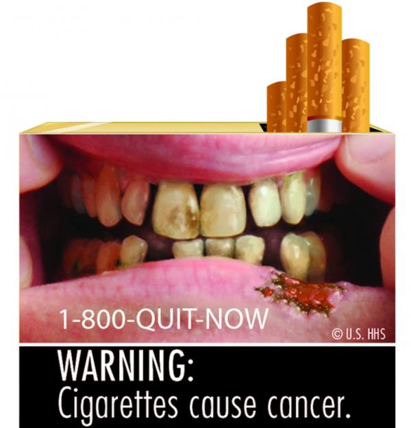 Coming next year to cigarette packs across the nation.