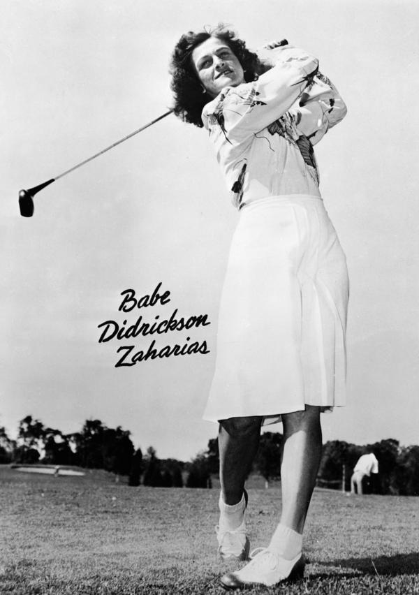 Golf, track, basketball ... Babe Didrikson Zaharias could do it all.