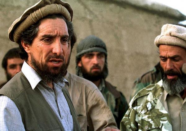 "Shown here in 1997, the ""Lion of the Panjshir,"" Ahmad Shah Massoud (left), fought against the Soviets in the 1980s, was a central figure in the Afghan civil war of the '90s and led the resistance against the Taliban until his death on Sept. 9, 2001, the victim of al-Qaida suicide bombers."