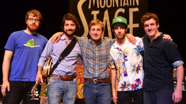 <p>East Lansing roots band Frontier Ruckus perform on <em>Mountain Stage</em>.</p>
