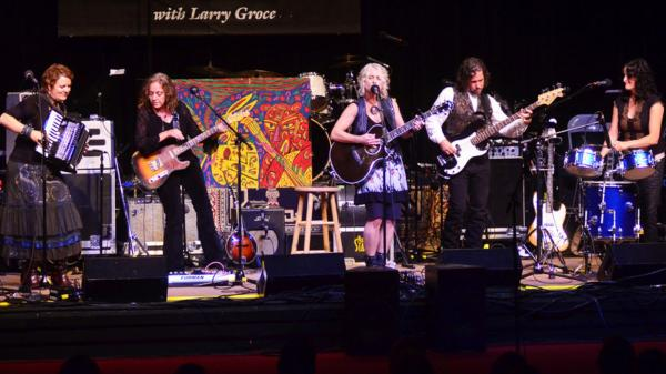 <p>Bay Area country rock collective Blame Sally perform on Mountain Stage.</p>