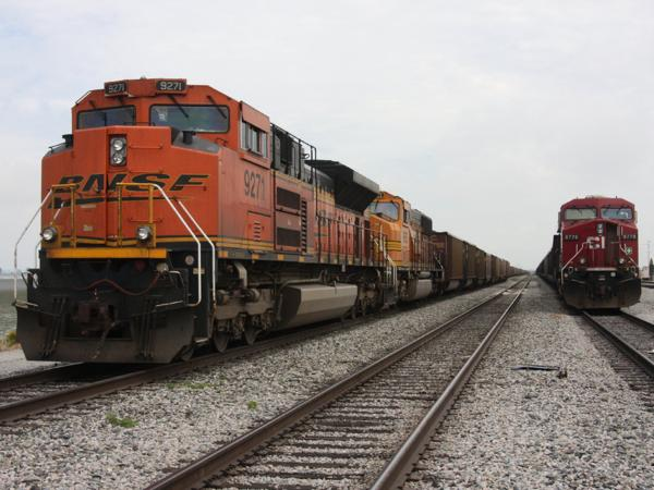 <p>About 35 miles north from Bellingham, just across the border in Vancouver, B.C., trains carrying coal rumble into the Westshore Terminal around the clock. The coal comes primarily from Canada, but increasingly the trains are delivering coal mined in Wyoming and Montana.</p>