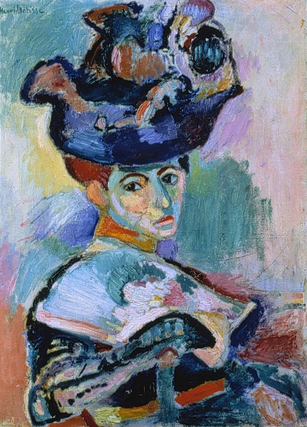 It took a little while for Leo Stein to warm up to Henri Matisse's wildly colored 1905 painting <em>Woman with a Hat.</em> But he kept going back to see it at the Grand Palais, and finally bought it for 500 francs.<em></em>