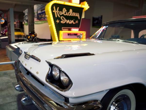 This 1957 DeSoto Fireflite is on display at The Henry Ford Museum in Dearborn, Mich.