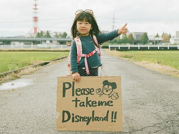 Toyokazu Nagano's portraits of his daughter, Kanna, have become a small Flickr sensation.